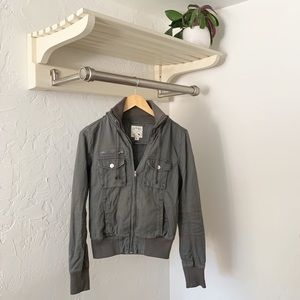 "NWOT PacSun Grey ""Army"" Jacket"